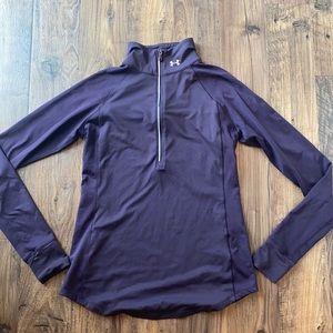Under Armour Purple 1/2 Zip Tech Twist Pullover